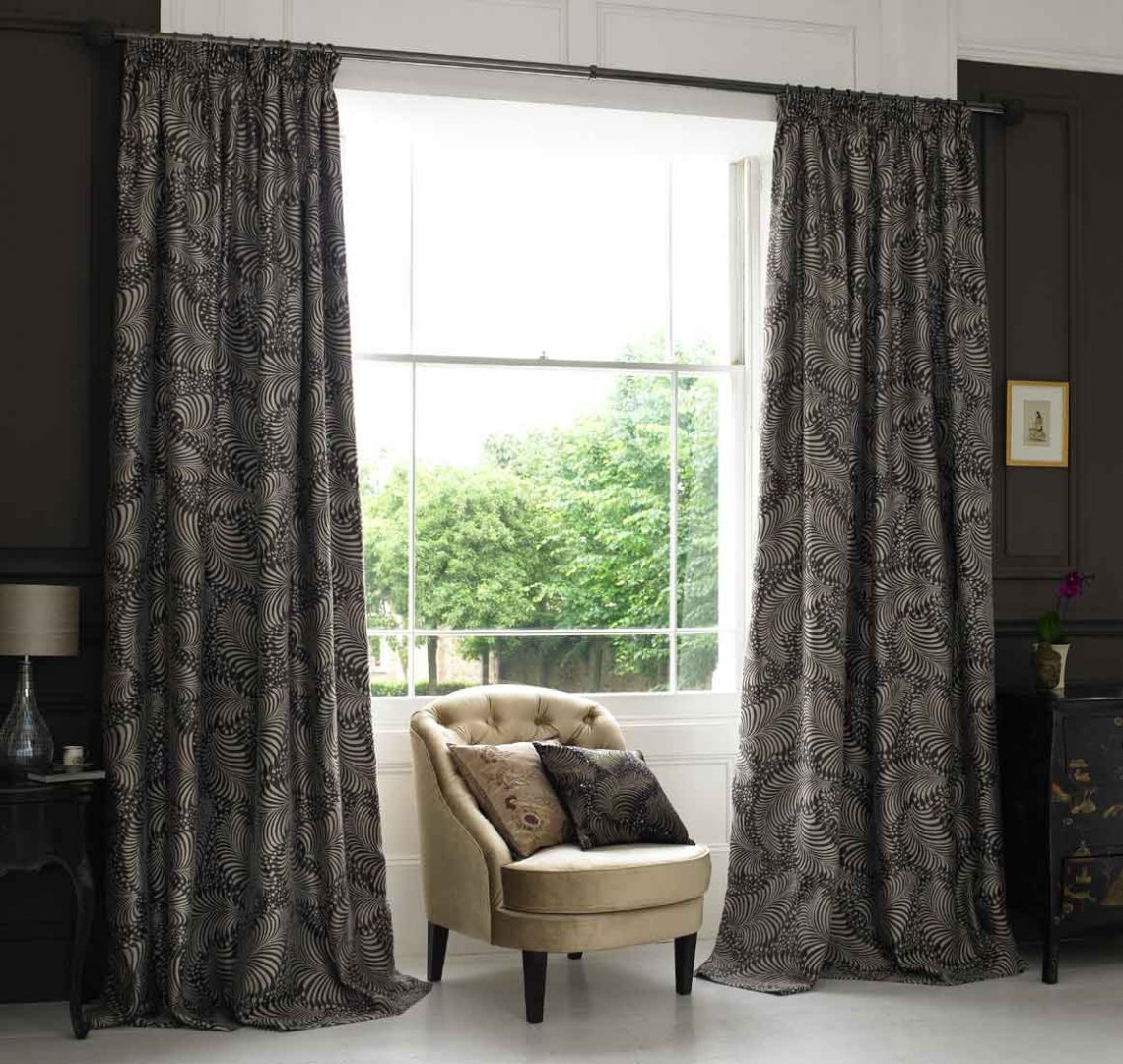 Window Covering Ideas For Creating Elegant Interior Styles: Cortinas De Tecido :: Fotos E Imagens