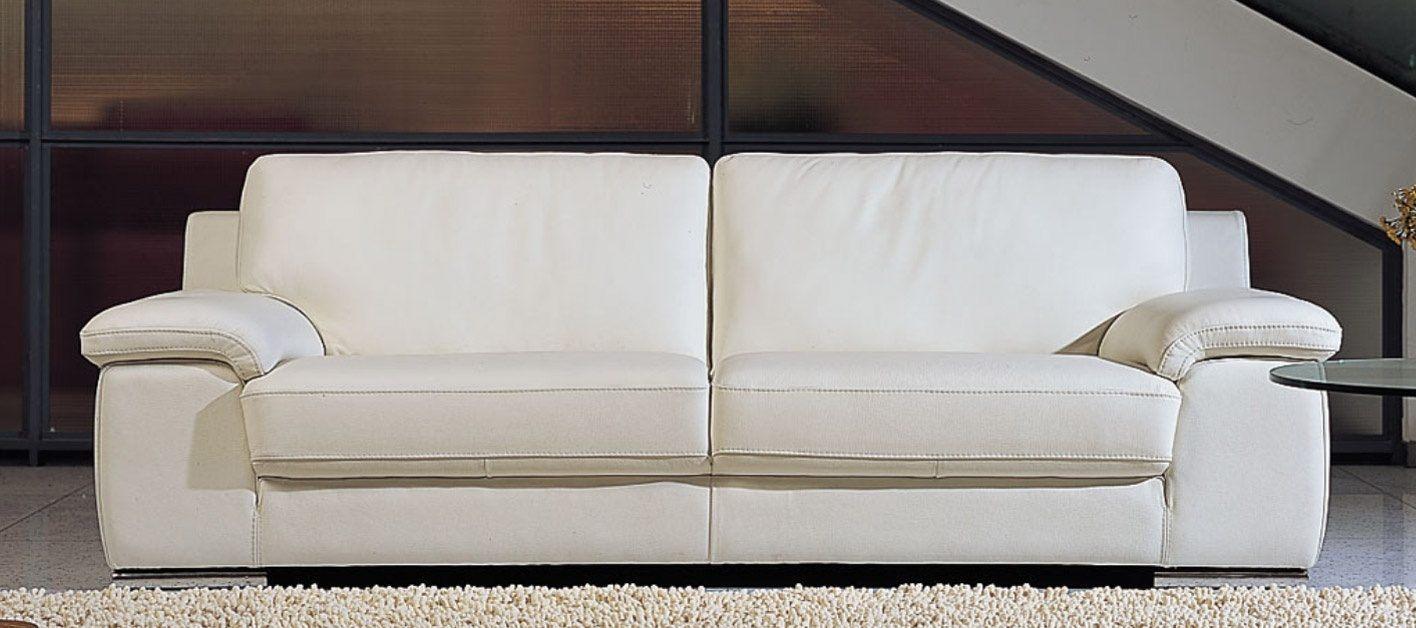 decoracao sofa branco:Sofá de couro branco :: Fotos e imagens